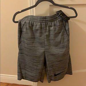 New Grey Nike Boy Shorts